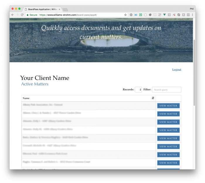 BoardPass Matters Page